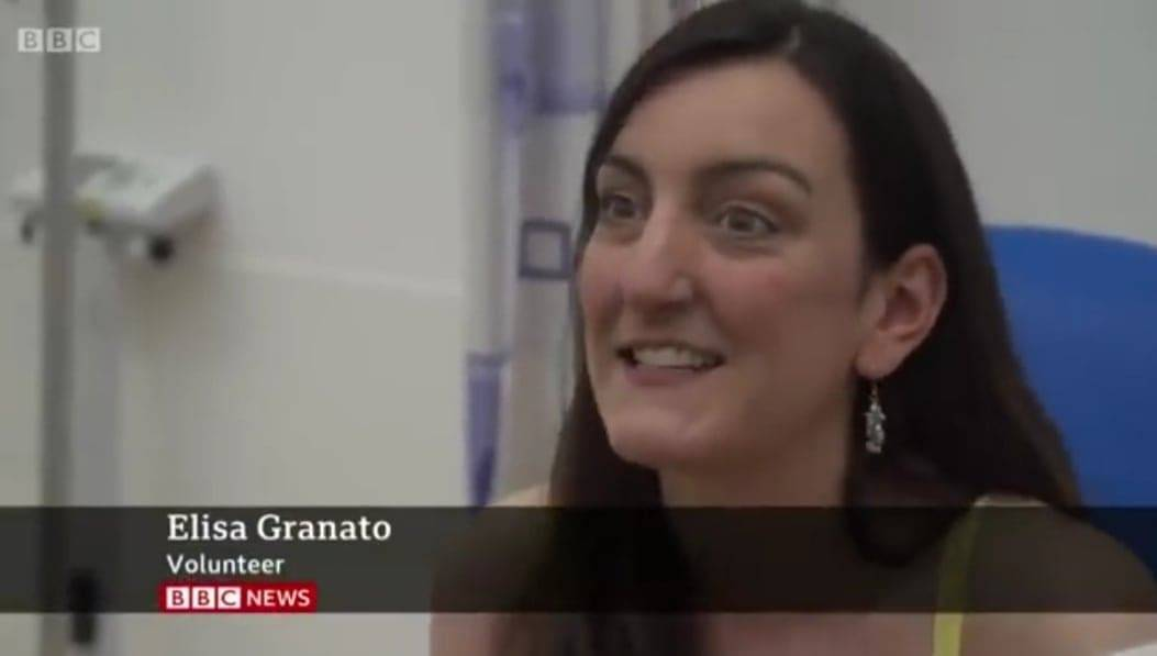Elisa Granato prima a testare il vaccino per il Covid-19