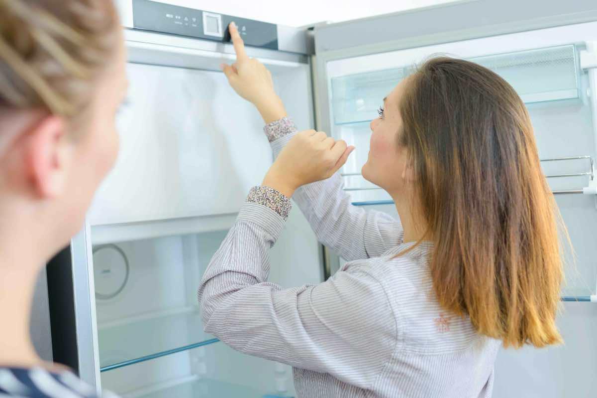 regolare temperatura frigorifero