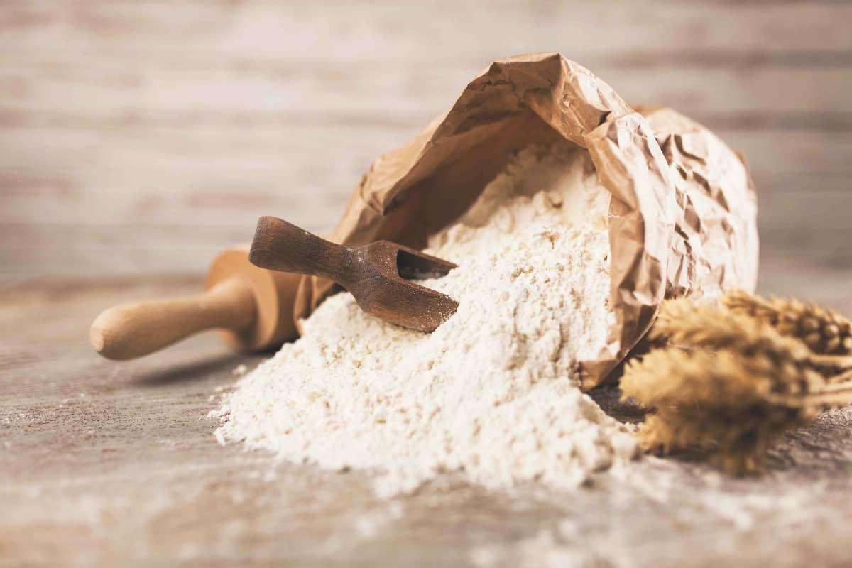 farina cruda