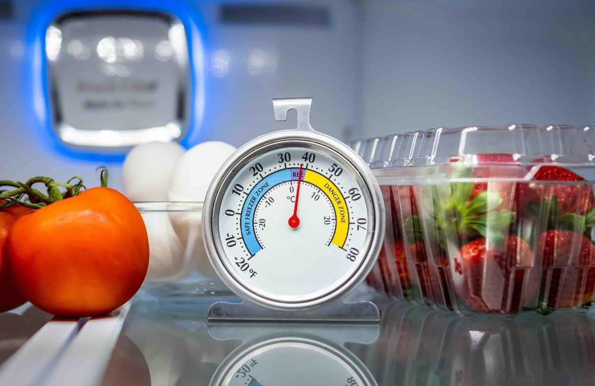 temperatura frigorifero