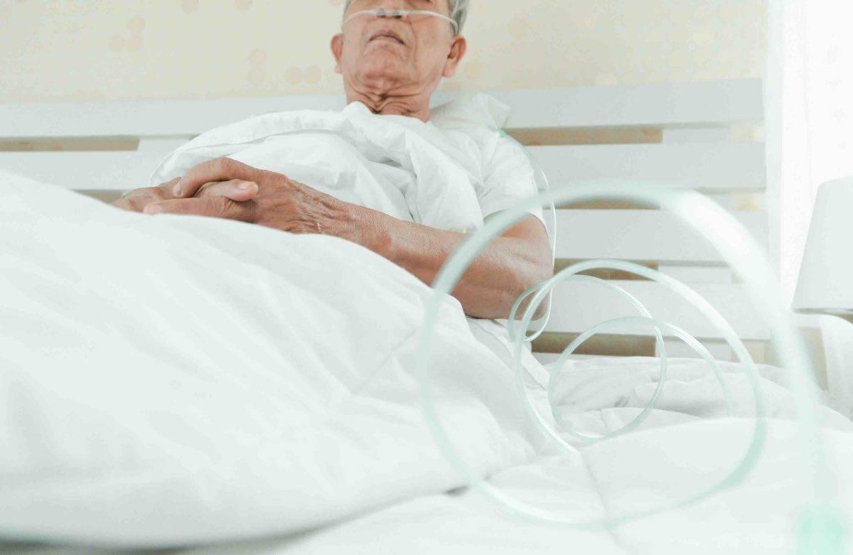 anziano ricoverato