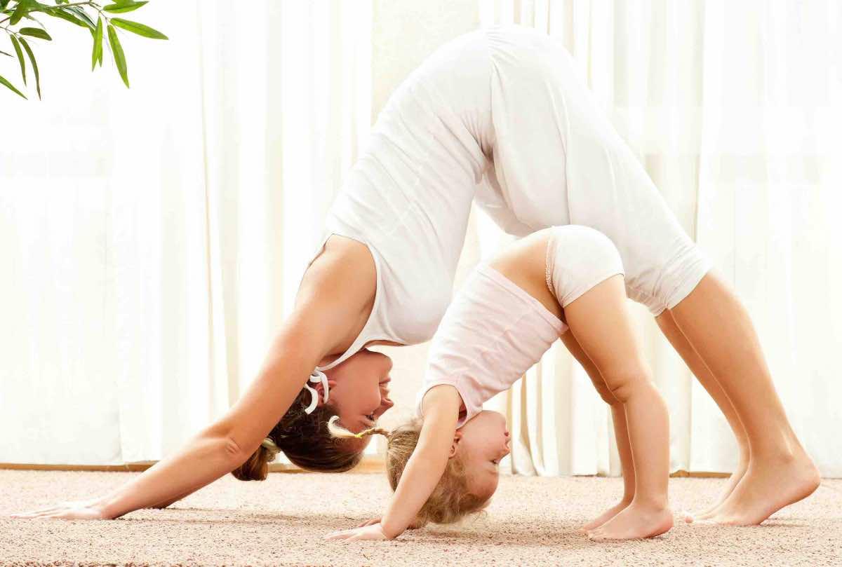 yoga madre figlia