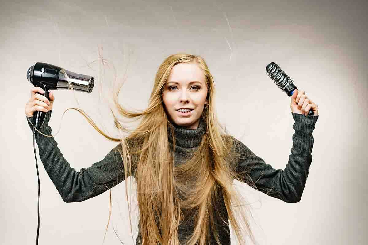 capelli elettricità
