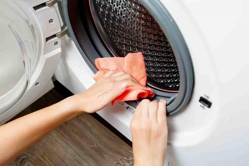 lavatrice manutenzione e pulizia