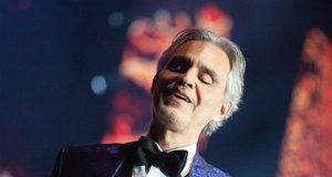 Andrea Bocelli concerto pasqua