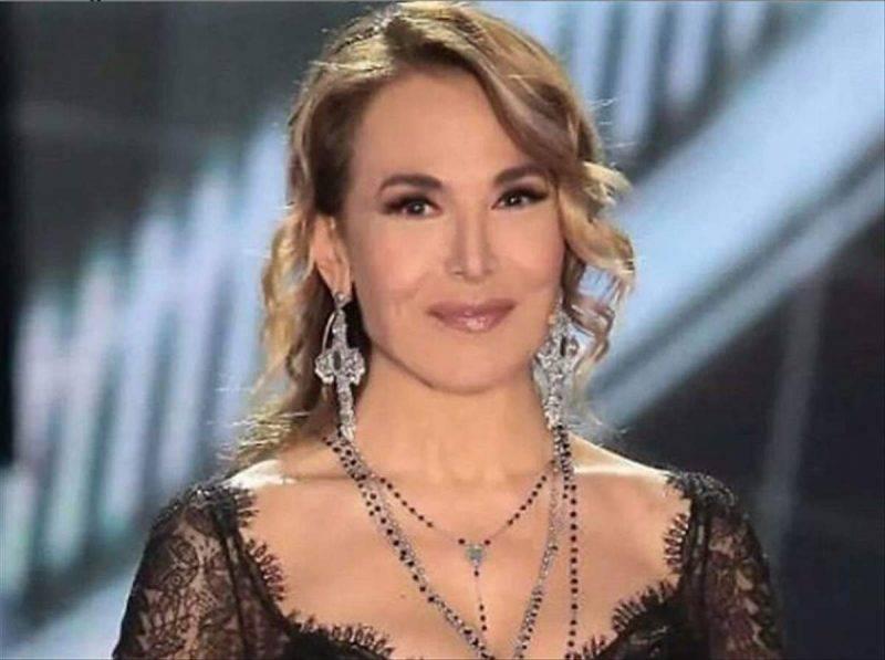 Barbara D'Urso preghiera