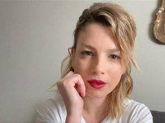 Emma Marrone mascherina
