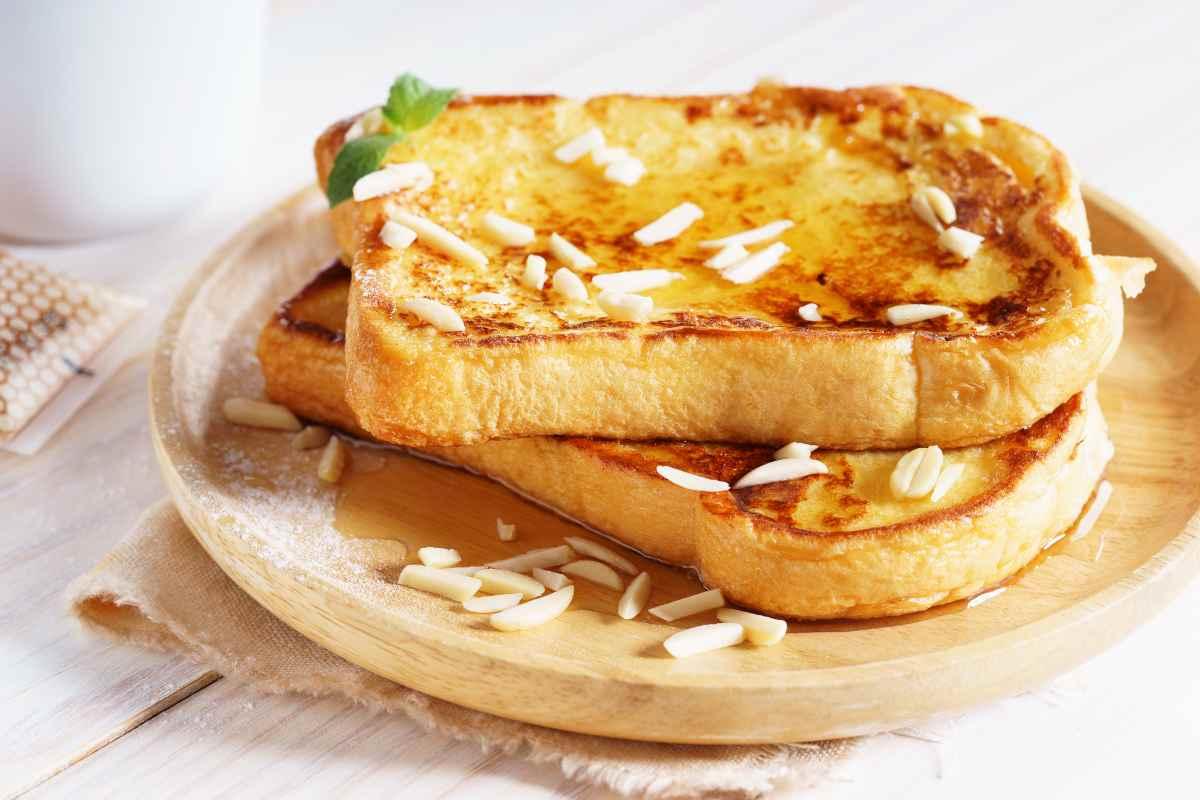 French toast salato