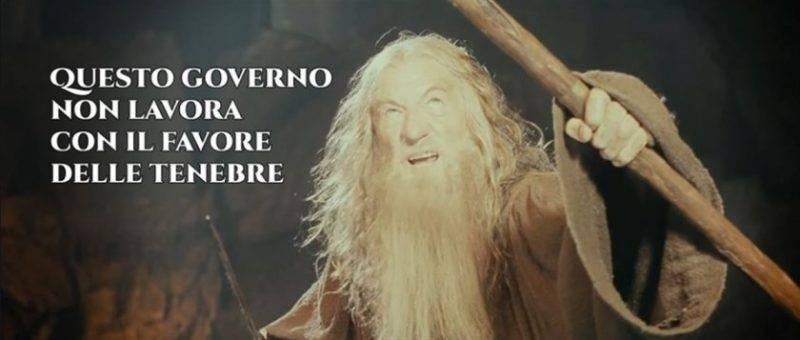 Meme Conte Gandalf