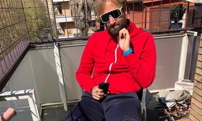 Massimiliano Rosolino in quarantena