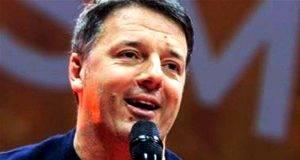 Matteo Renzi inter chiesa