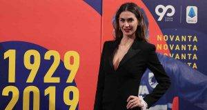 Melissa Satta, nuova foto in costume per i followers