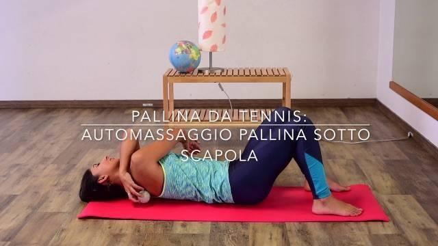 Pallina da tennis massaggio