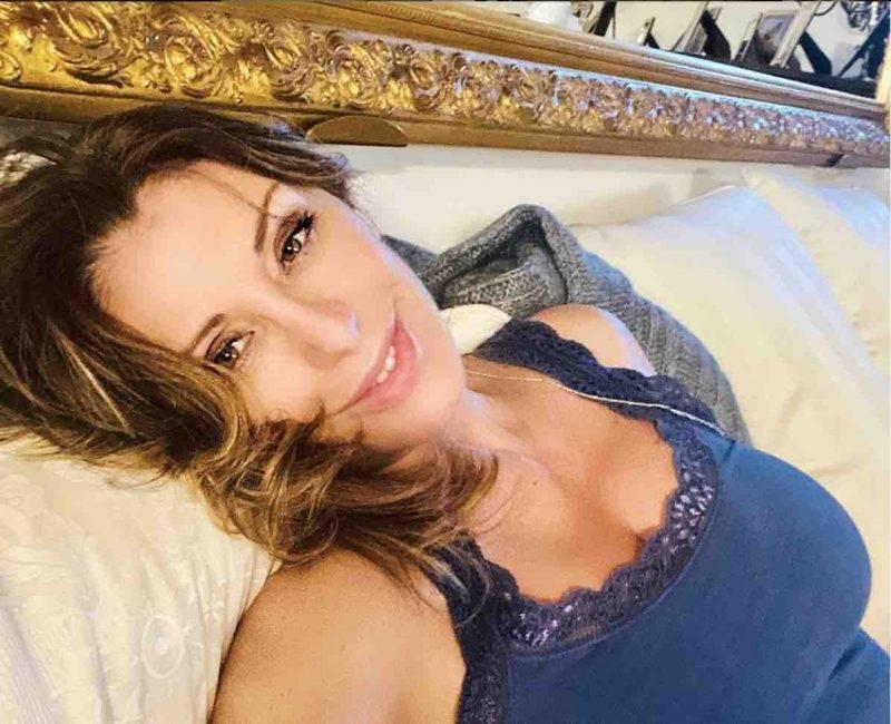 Sabrina Salerno conturbante sui social (Instagram)