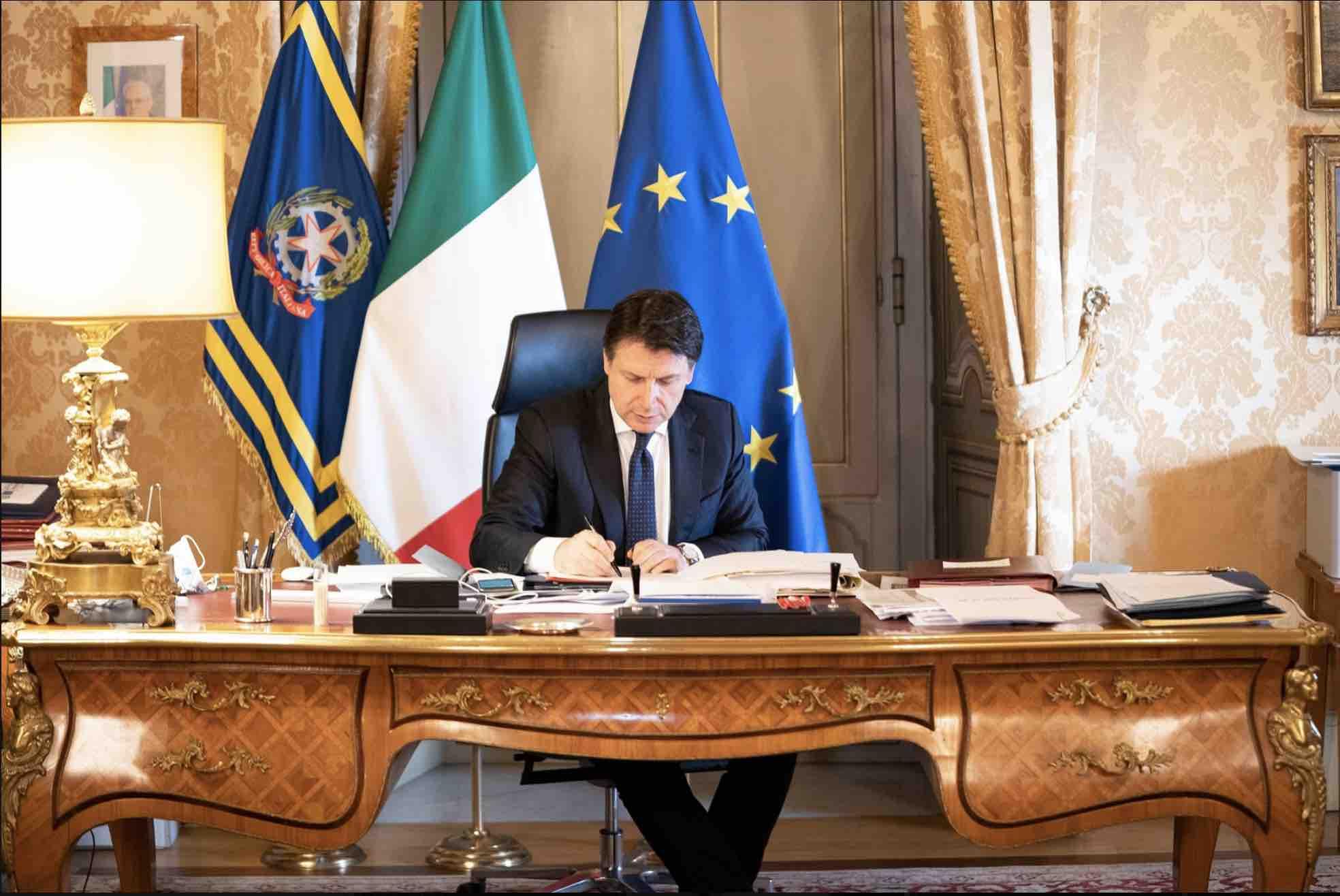 Giuseppe Conte Europa