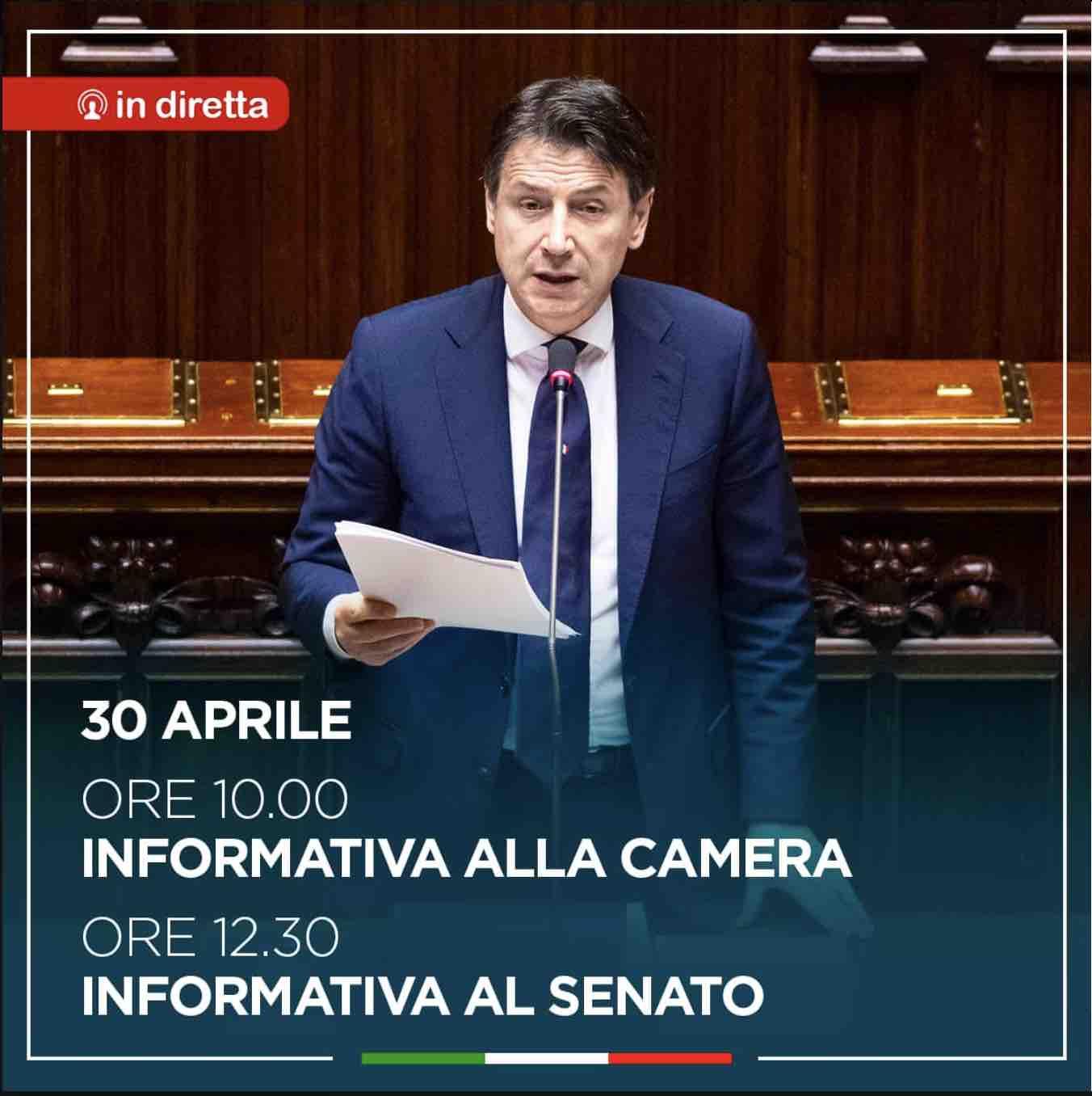 conte parlamento