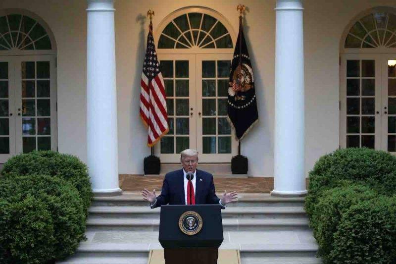 Trump, stoccata all'OMS