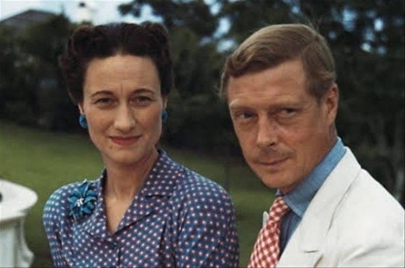 Wallis Simpson con Edward David Windsor