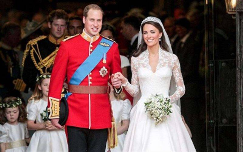 William e kate anniversario matrimonio