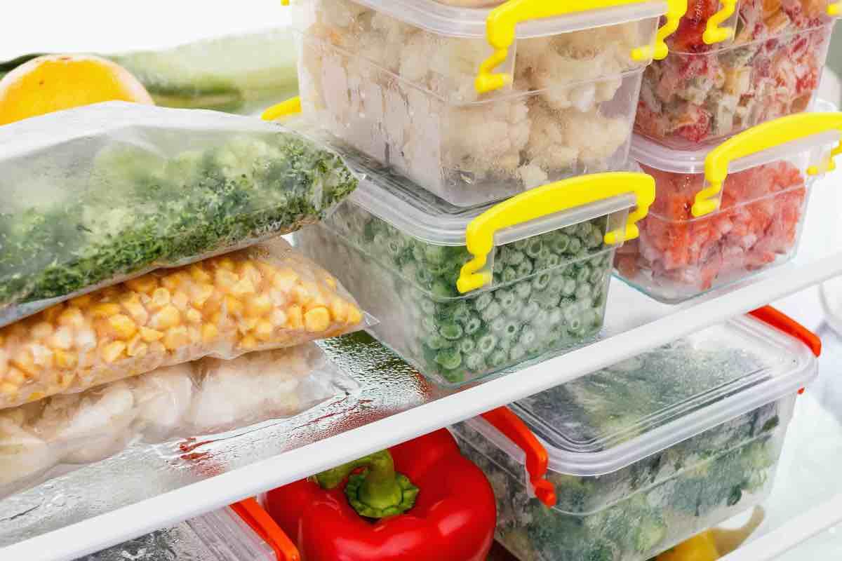 congelare alimenti