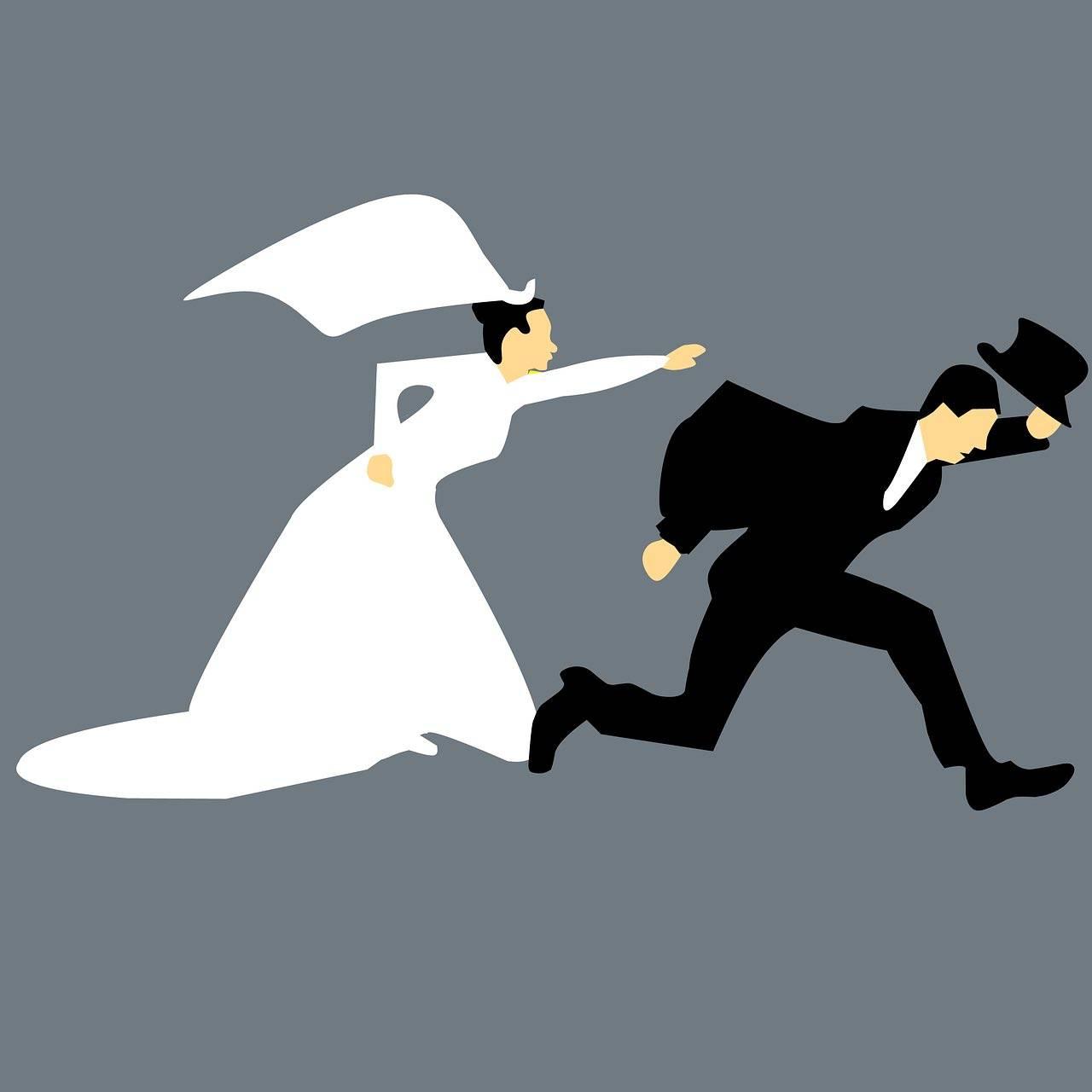 fuga matrimonio