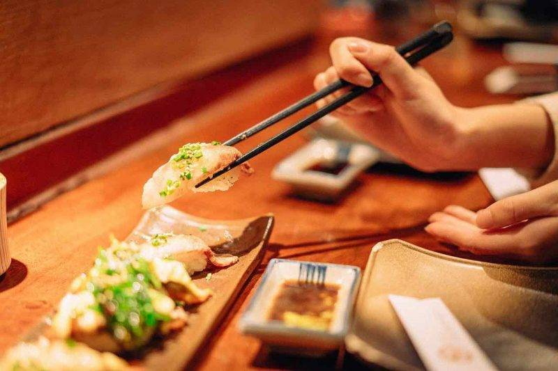 sushi bacchette