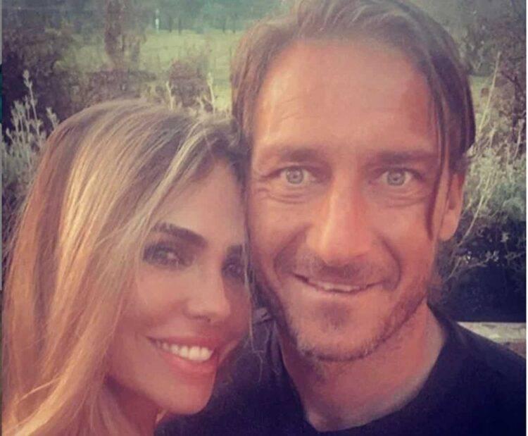 Blasi e Totti - Foto Instagram da https://www.instagram.com/francescototti/