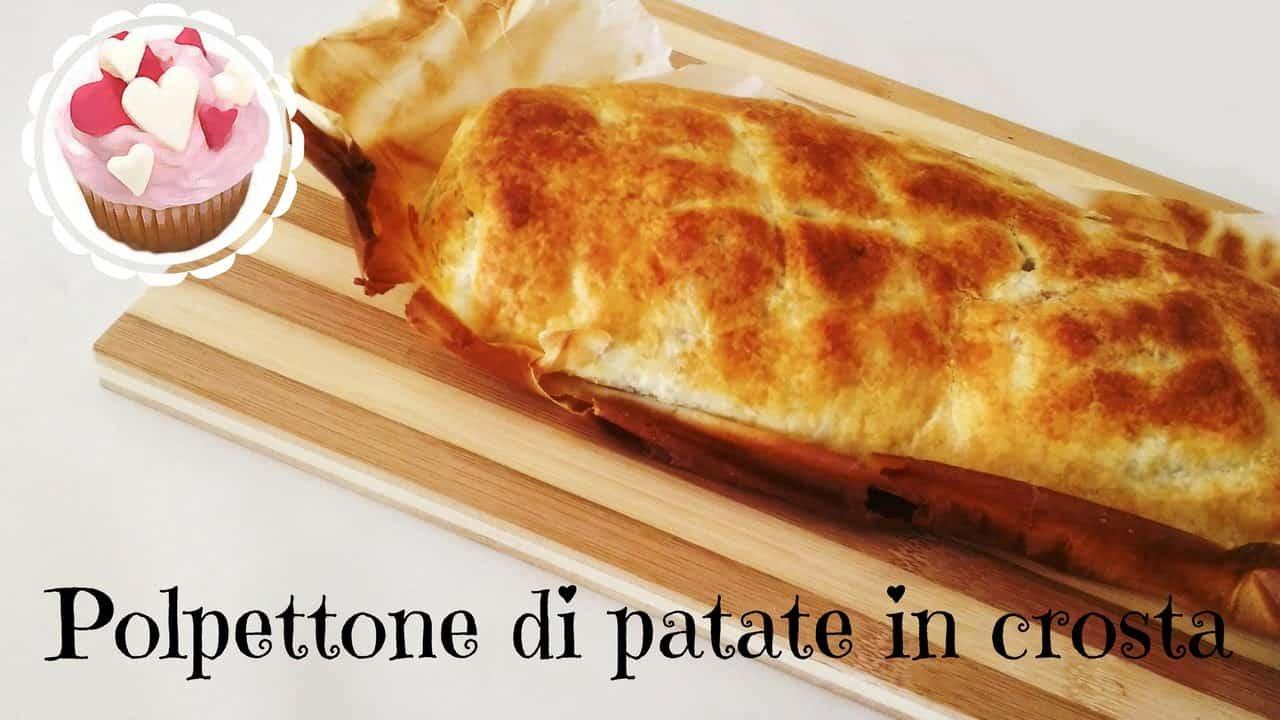 Pasqua vegetariana   polpettone di patate in crosta