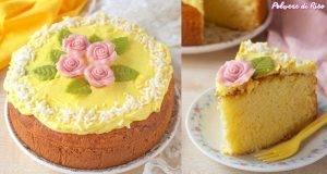 Torta di Primavera al limone senza glutine