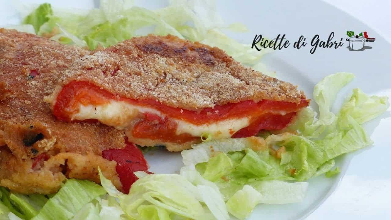 Ricetta Vegetariana | cotolette di peperoni