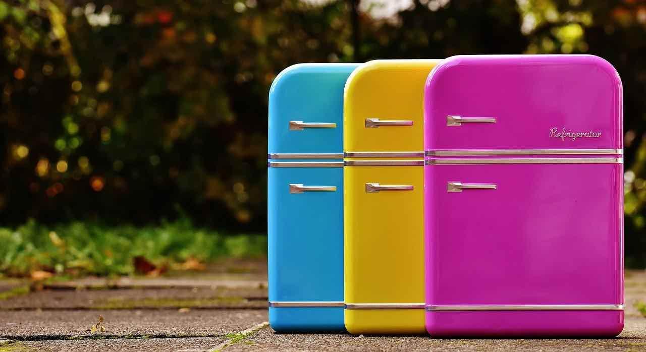 frigorifero colorato