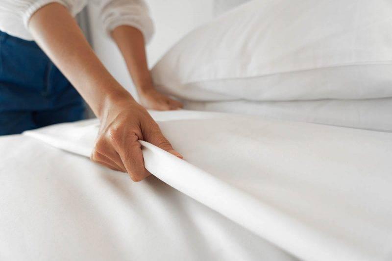cambiare le lenzuola