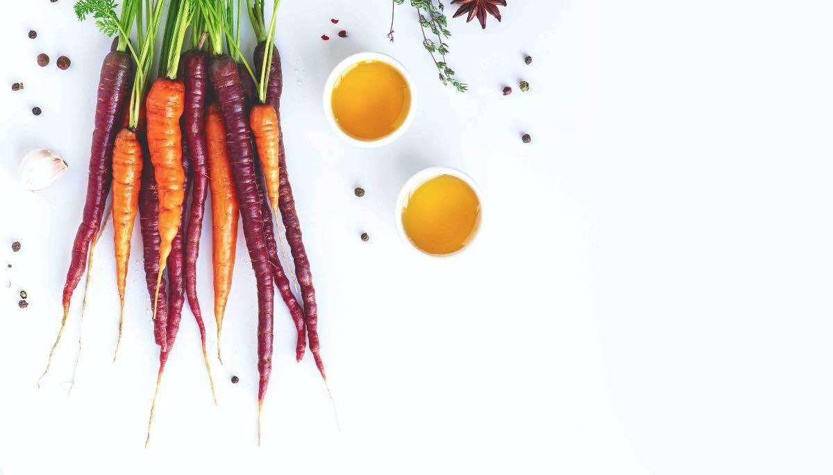olio e carote