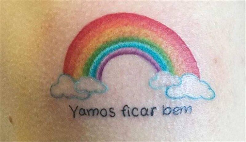 Andrà tutto bene tattoo
