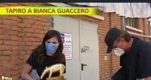 Bianca Guaccero a Striscia La Notizia