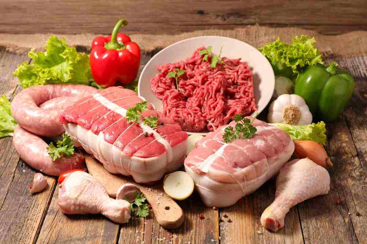 cuocere carne