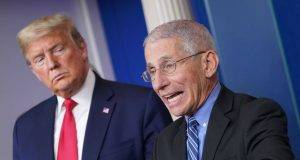 Anthony Fauci Donald Trump