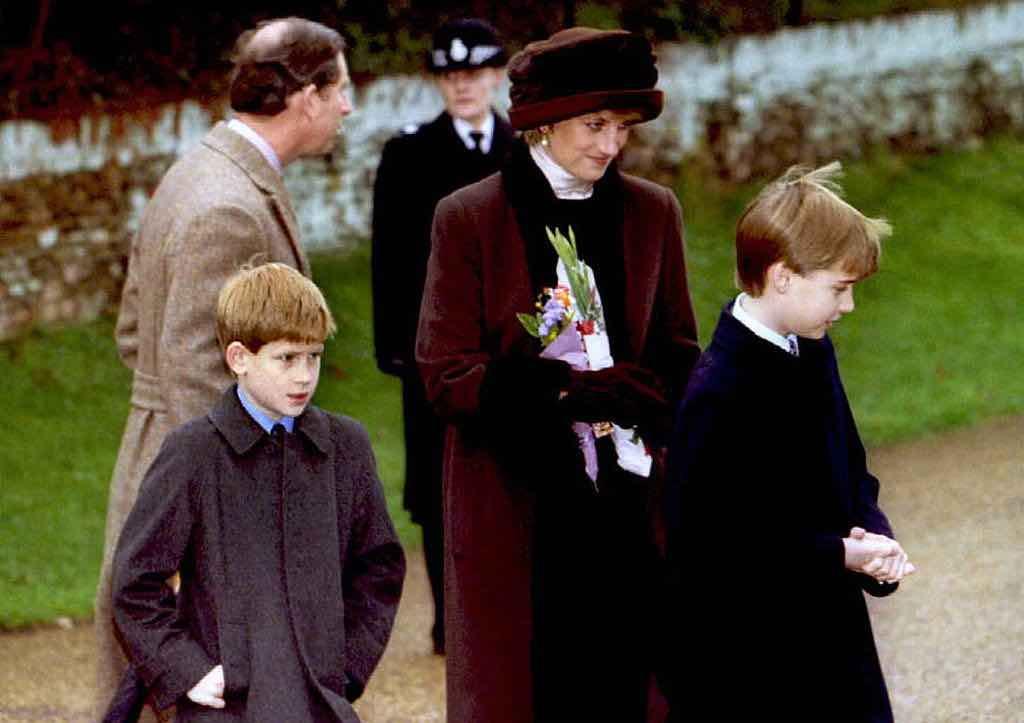 lady Diana figli