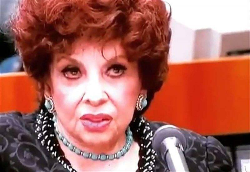 Gina Lollobrigida furto