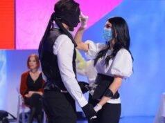 Giovanna Abate balla con l'Alchimista