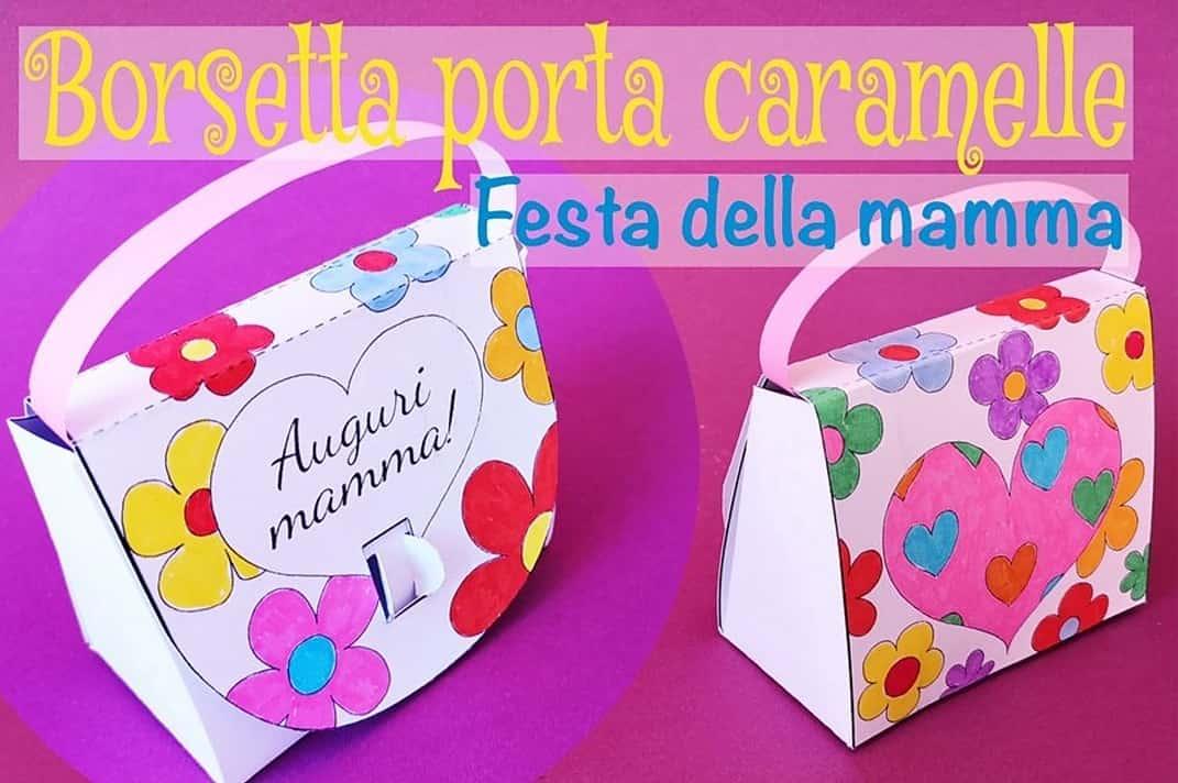 Festa della mamma | borsetta porta caramelle -