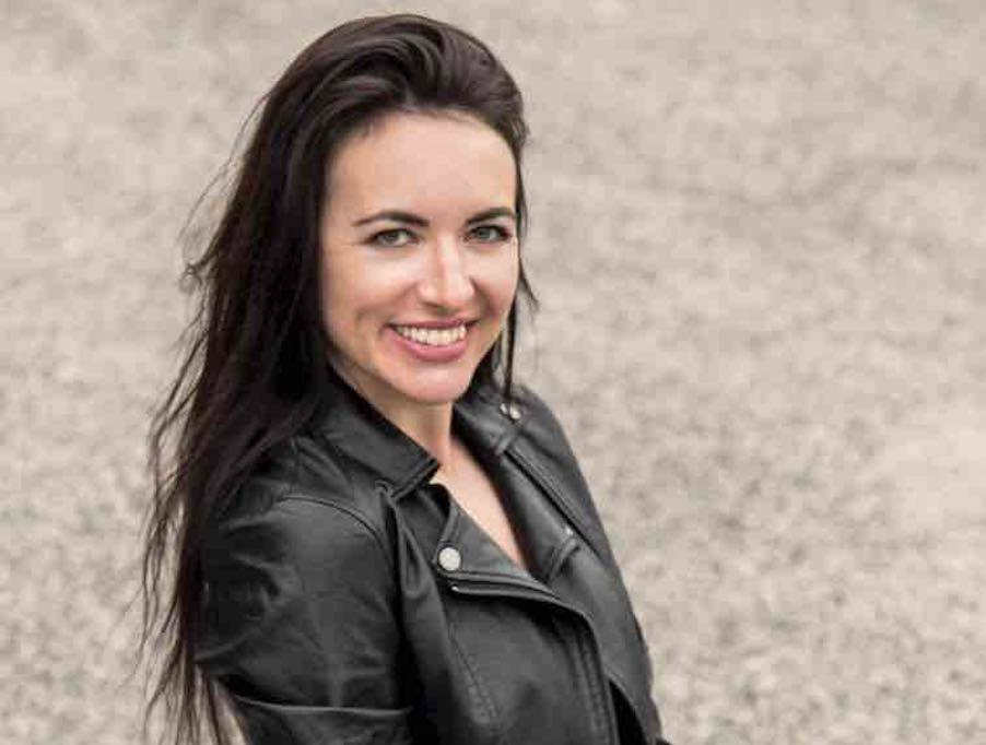 Jessica Donadio, speaker e conduttrice televisiva (Ph. Alessija Spagna)