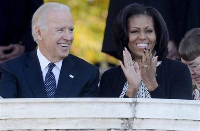 Michelle Obama vicepresidente biden