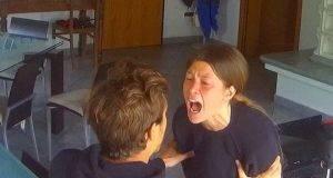 Natalia Paragoni urla ad Andrea Zelletta