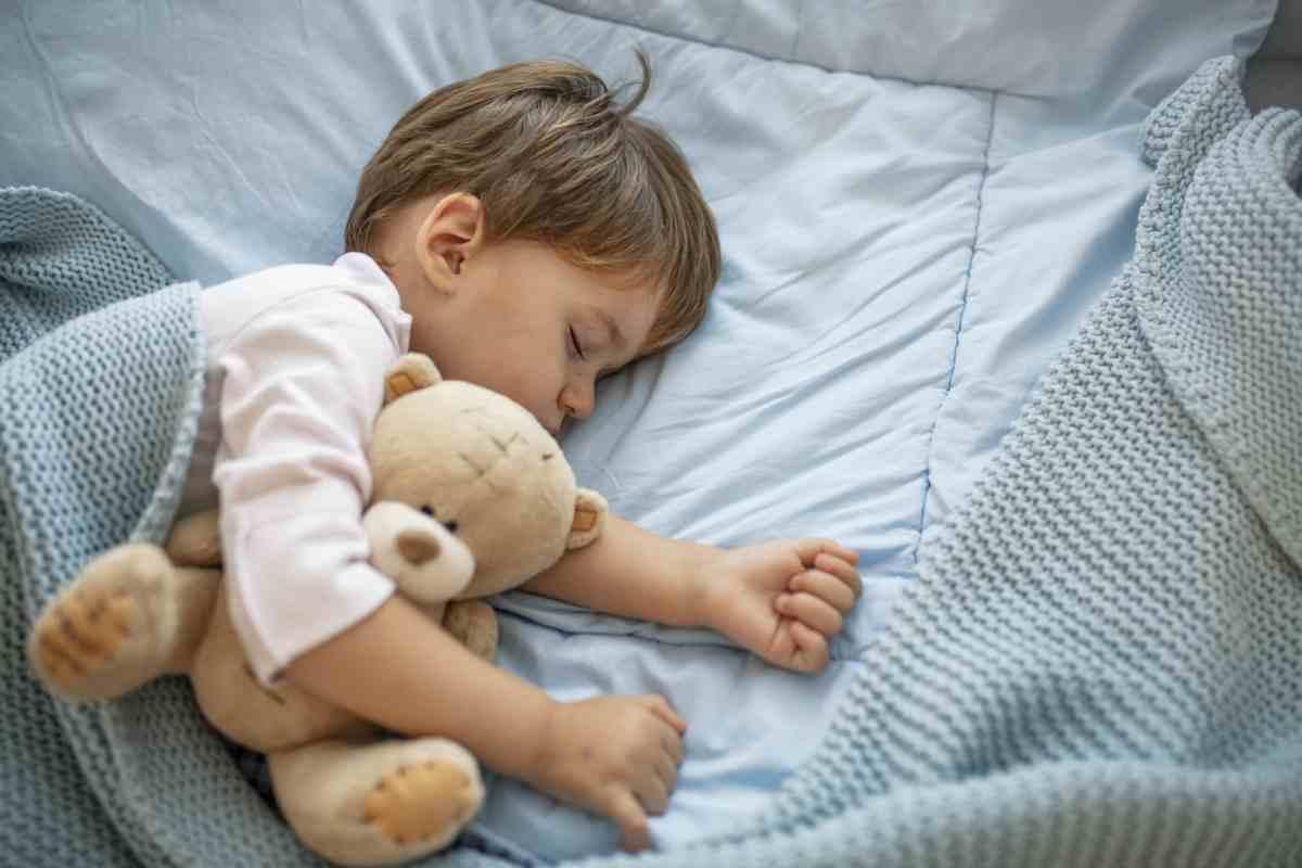 10 regole per il sonno dei bambini