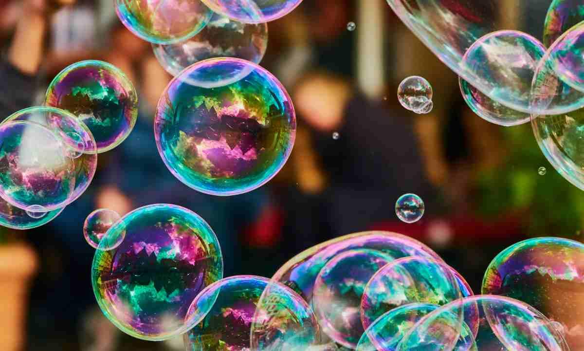 bolle di sapone fai da te senza glicerina