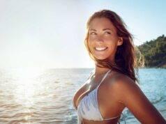 Beauty routine e makeup da spiaggia