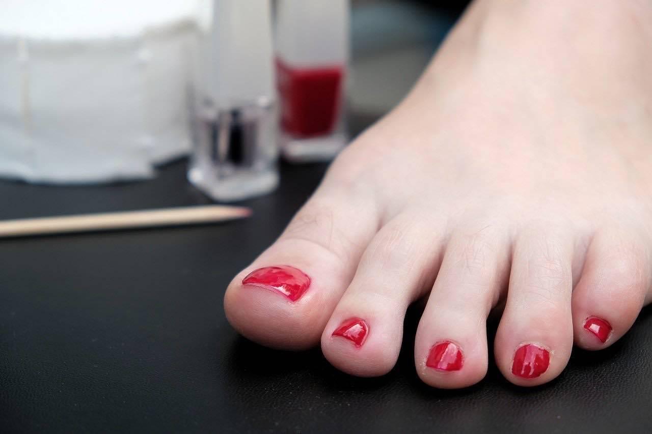 semipermanente piedi