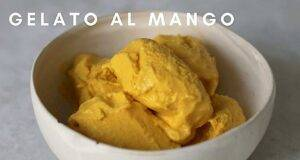 Ricetta vegana gelato al mango sano e veloce