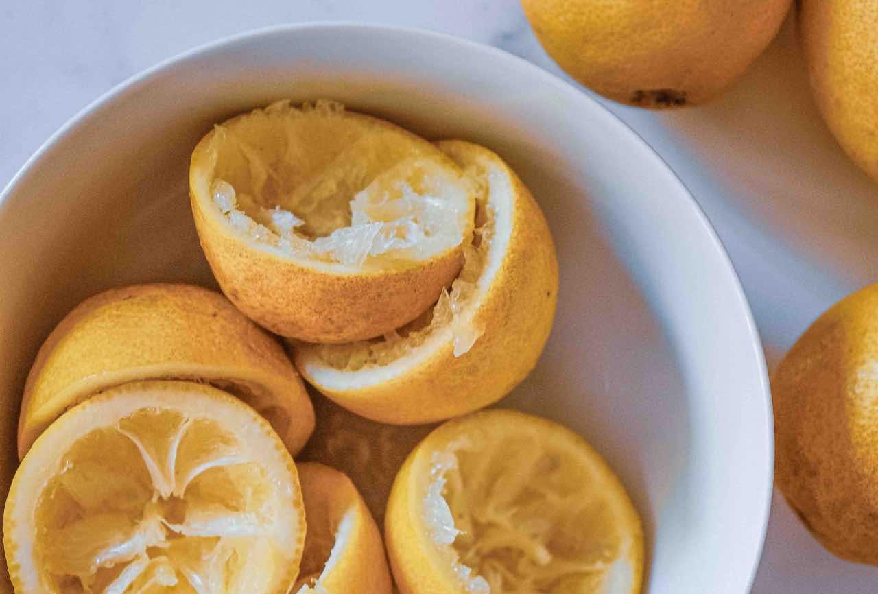 bucce limoni